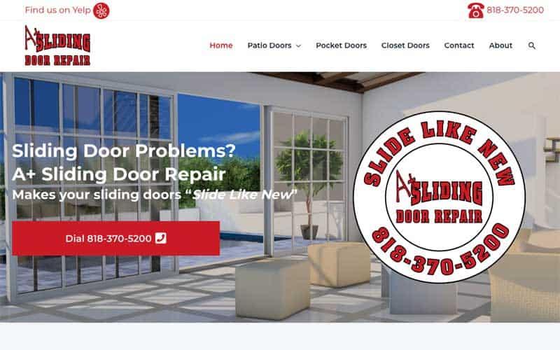 A+ Sliding Door Repair