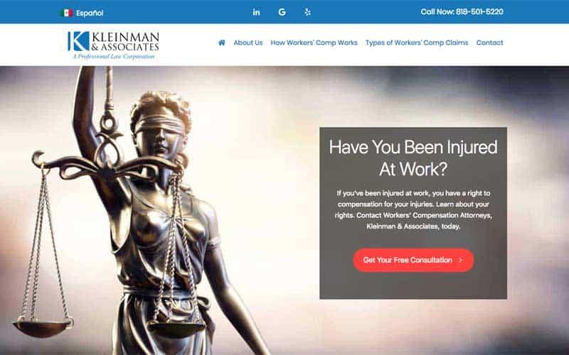 Kleinman Legal - Workers' Compensation Attorney