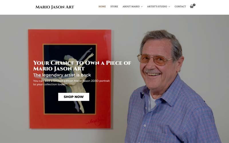 Mario Jason - Artist, Sculpter