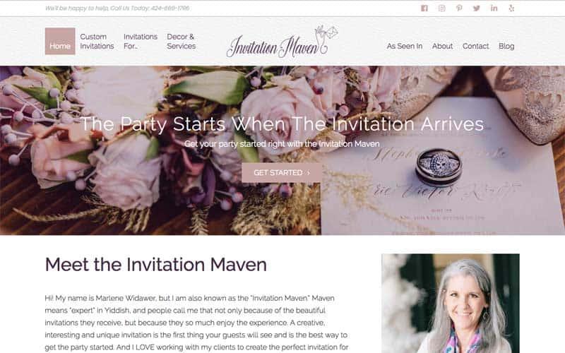 Invitation Maven. Unique, Creative, and Personal Invitations Designed for You