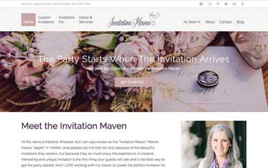 Invitation Maven. Unique, Creative, and Personal Invitations Designed for You