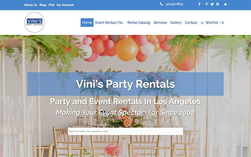 Vinis Party Rentals
